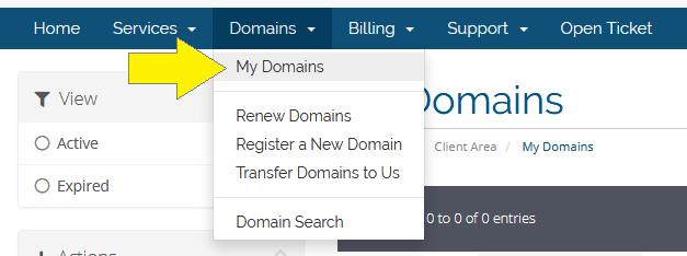 Select My Domains